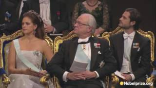 Rossini at the Nobel Prize Ceremony 2012