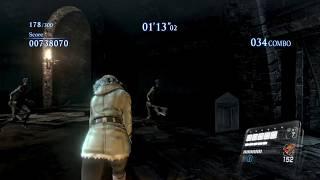 Just some Catacombs Mercenaries No Mercy Gameplay using Sherry Birkin