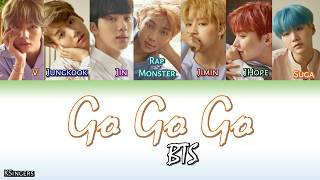 BTS  Go Go �� GO  Sub Han  Rom  Español Color Coded Letra