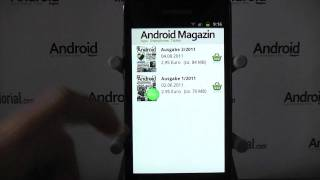 Android Magazin YouTube-Video