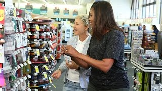 Video Ellen and First Lady Michelle Obama Go to CVS MP3, 3GP, MP4, WEBM, AVI, FLV Juni 2019