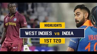 1st T20 India vs West Indies Highlights 2019 || Cricket 19