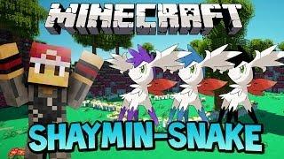 Shaymin Snake (Snake Game) Minecraft Mini-Game w/MrWoofless&Preston!