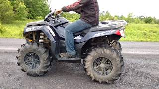 7. Arctic Cat XR 700 XT with GSE Performance Trail Tamer muffler