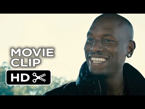 Furious 7 Movie CLIP - Drop of Fear (2015) - Tyrese Gibson, Paul Walker Movie HD