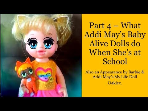 Jokes - Part 4 - What Addi May's LOL Surprise Dolls Do When She's at School
