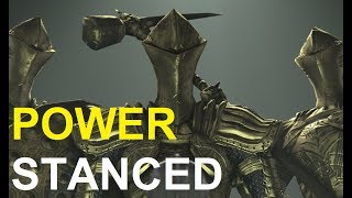 A video of me taking down Ruin Sentinel Alessia, Ricce, and Yahim while Power Stanced on New Game Plus 7 and under the...
