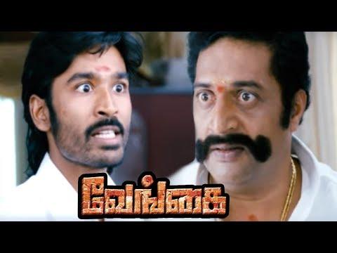 Venghai | Vengai Tamil Movie Scenes | Prakash Raj becomes Minister | Dhanush Challenges Prakash Raj