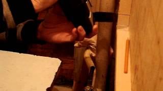 03   GOP 18 V EC Выборка паза в брусе обрешётки