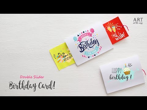 How To Make Greeting Cards With Paper Youtube Nemetas