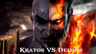 GOW: Kratos VS Deimos (Ghost of Sparta)