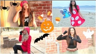 Super Fast & Affordable DIY Halloween Costumes! - YouTube