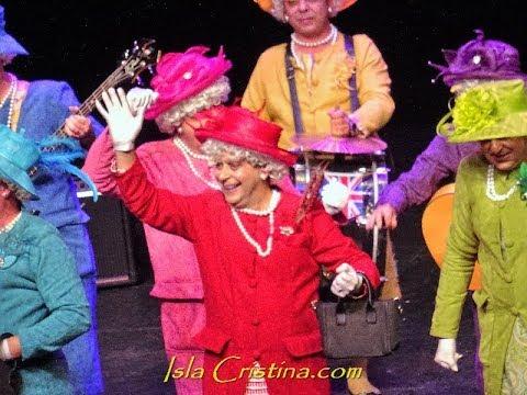 """Semifinales: Murga """"Las Alcalinas"""" Carnaval de Isla Cristina 2019"""
