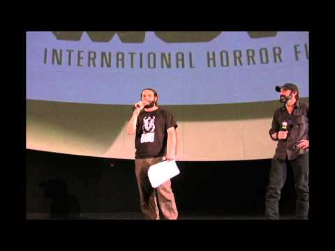 John Charles Meyer/Millennium Bug Q&A at Spooky Movie festival in Washington DC