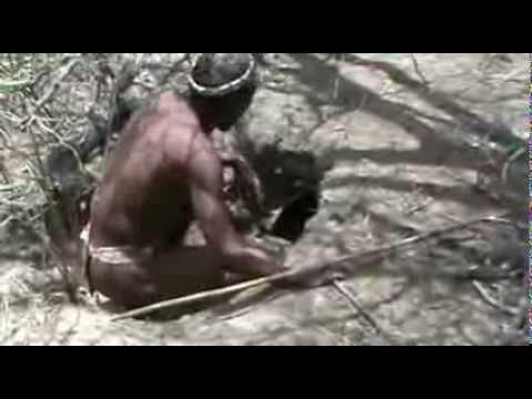 EXTRA survival & bushcraft - Bushmen Hunter Gatherers in the Kalahari