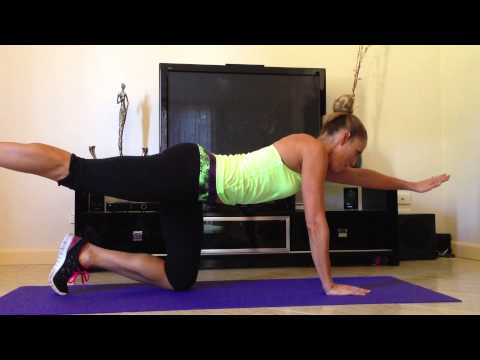 superman exercise – Core for new mums
