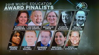2018 Grammy Music Educator Award finalists revealed