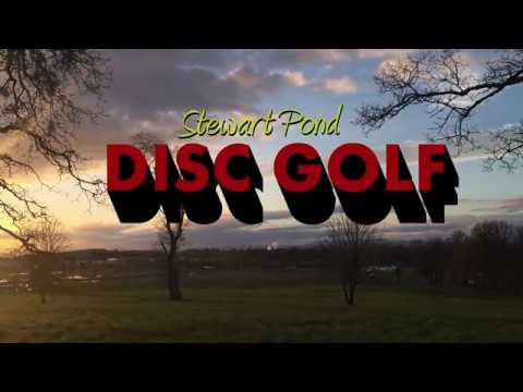 Stewart Pond Disc Golf!
