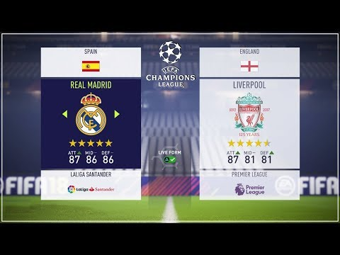 Prediksi & Preview Final Liga Champions Kiev 2018: Real Madrid vs Liverpool (Simulasi FIFA 18)