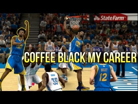 @TwoBrosGaming | NBA 2K13 MyCAREER: 3-Point Specialist SF - Coffee Black KILLIN THE THUNDER!