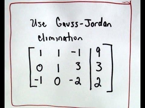 Gauß-Elimination