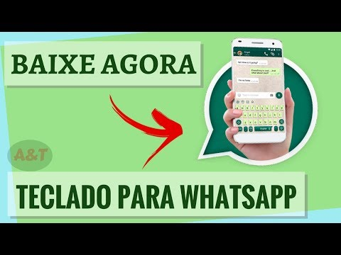 Baixar whatsapp - COMO Baixar NOVO Teclado PARA Whatsapp (2018)