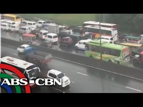 NLEX traffic builds up toward INC%27s PH Arena