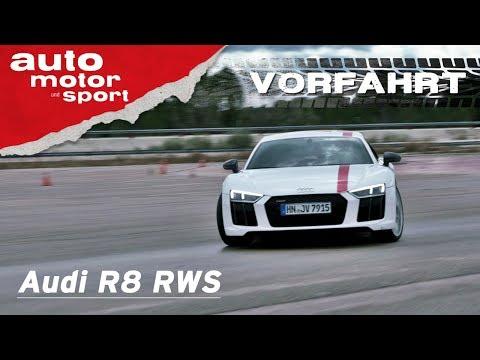 Audi R8 RWS mit Qualm-Garantie: Wer will da noch Quattr ...