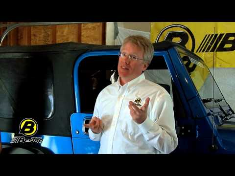 Bestop Replace-A-Top for 97-06 Jeep Wrangler TJ – Part 1
