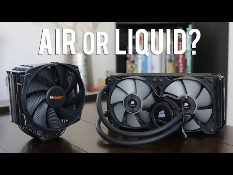 Air Coolers vs Liquid Coolers - What You Need to Know