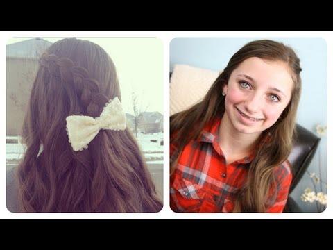 Pancake Lace Braid by BrooklynAndBailey %7C Cute Girls Hairstyles