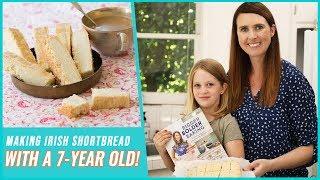 Making Irish Shortbread with a 7-Year-Old! | The Bigger Bolder Baking Cookbook by Gemma's Bigger Bolder Baking