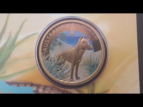 2012 Australia World Heritage series $1 coins