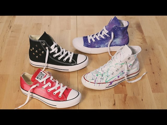 D I Y Embroidered Converse Free MP3 Download