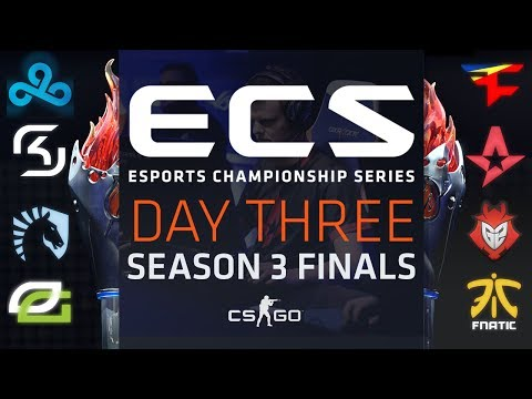 ECS S3 Live Finals - Day 3 (SSE Arena, London) (видео)
