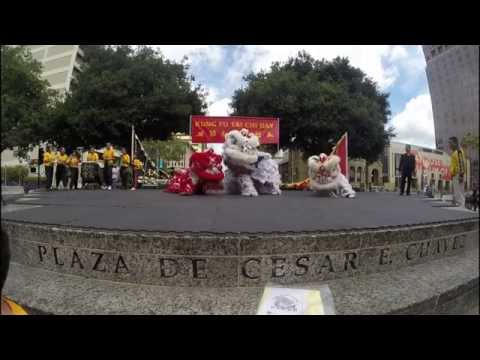 KFTC Day 2014: Ben's Shaolin Kung Fu Lion Dance (видео)