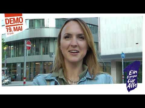 """""""Ein Europa Für Alle – Deine Stimme gegen Nationalismus"""" Demo am 19. Mai"""