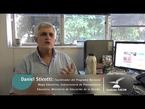 Interview with Daniel del coordinator Sticotti National Program Education Map
