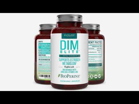 Extra Strength DIM 250mg - Plus Dong Quai, Vitamin E