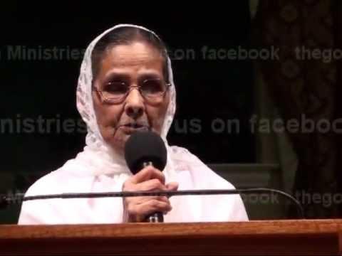 Testimony Of Rajamma Abraham –  A Hindu convert to Christianity