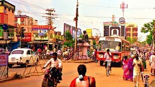 Tamil Nadu India  city pictures gallery : Driving Around Thanjavur City, Tamil Nadu - India 2014 HD