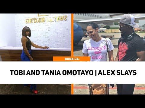 BBNAIJA: Tobi Travels With Wizkid Ex Tania Omotayo | Alex Slays In New Picture