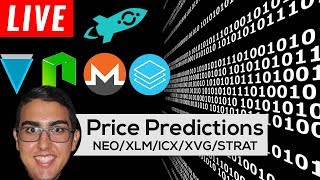 Price Predictions: NEO ($NEO), Monero ($XMR), ICON ($ICX), Verge ($XVG), Stratis ($STRAT), & More!
