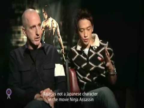 16 11 09 Ninja Assassin  - Korean Beacon Entrevista (Sub Español)