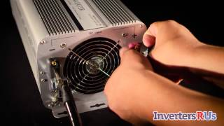 The Aims Power PWRINV500012W 5000 Watt Power Inverter has the following features and can be found at: http://invertersrus.com/product/aims-pwrinv500012w/ Aim...