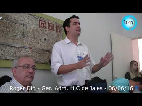 Jales - Roger Dib declara :