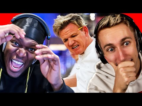 SIDEMEN REACT TO GORDON RAMSEY INSULTS
