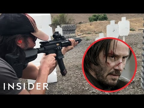How Keanu Reeves Learned To Shoot Guns For 'John Wick'   Movies Insider