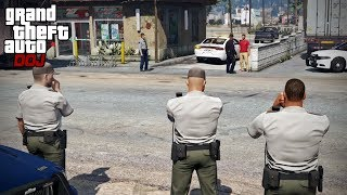 Video GTA 5 Roleplay - DOJ 331 - Assisting The Police (Civilian) MP3, 3GP, MP4, WEBM, AVI, FLV Juli 2019