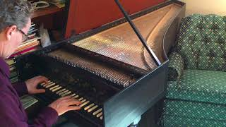 Improvised Harpsichord Fugue on a Theme of Bach